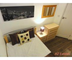 ▲▲ Smart Furnished Room + TV. From Leyton Tube Only 10 min to Liverpool Street by Central Line ▲▲