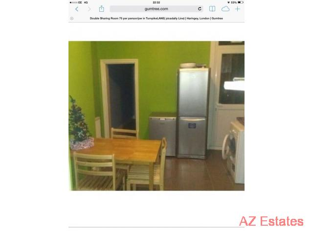 Room Share in Gorgeous House / Turnpike Lane (Picadally line)£ 80 per week /per person