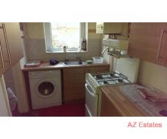 2 bedroom house, large living room, separate kitchen, large private garden
